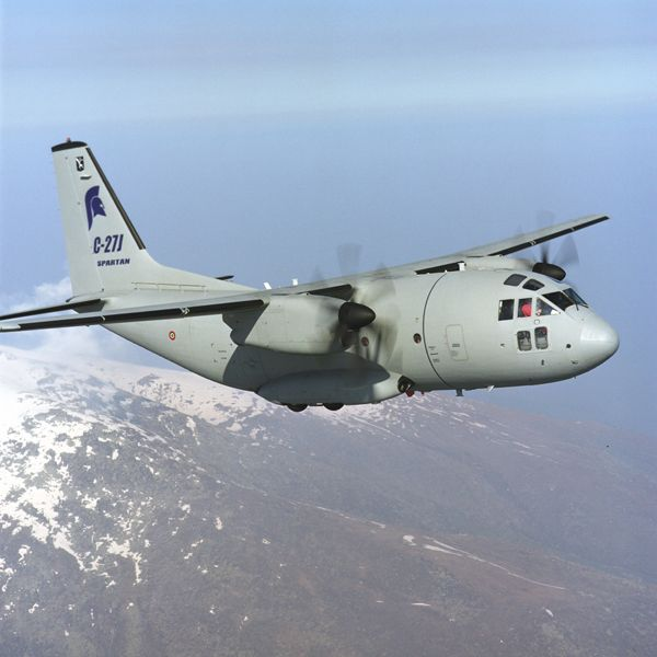The USA's C-27J Joint Cargo Aircraft
