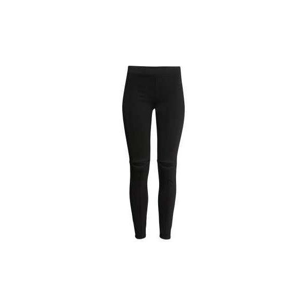 Slim-fit Leggings $17.99 ($18) ❤ liked on Polyvore featuring pants, leggings, h&m leggings, h&m pants, twill leggings, h&m trousers and twill pants