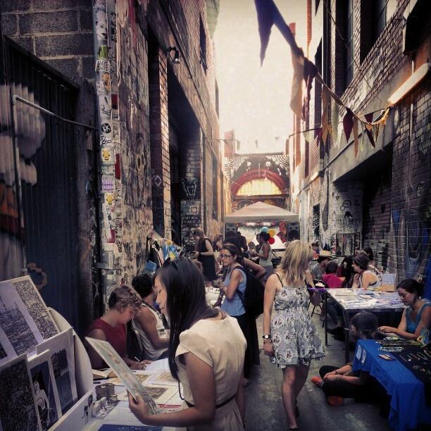 Blender Lane Artist's Market