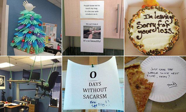 Are these the funniest office jokes ever? | Daily Mail Online