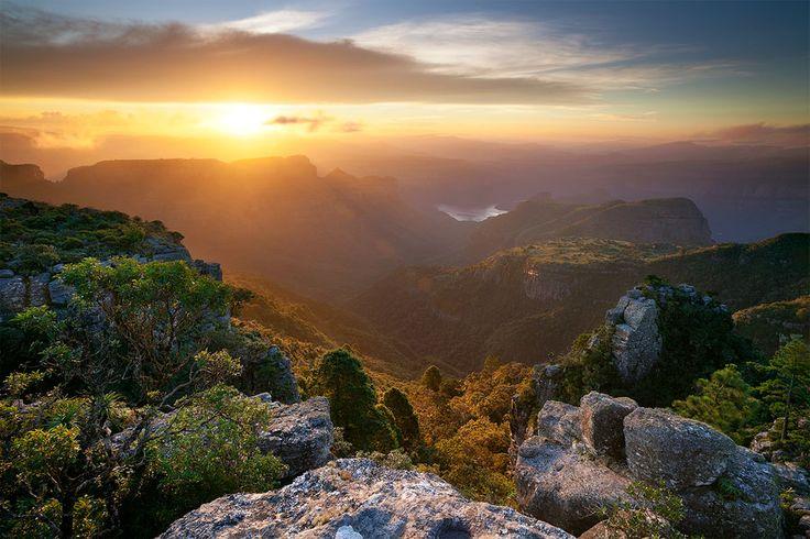 Mpumalanga Summer Sunset  Blyde River Canyon, Mpumalanga, South Africa