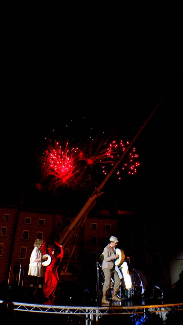 Fireworks ecarlow arts festival  #carlowartsfestival #carlow