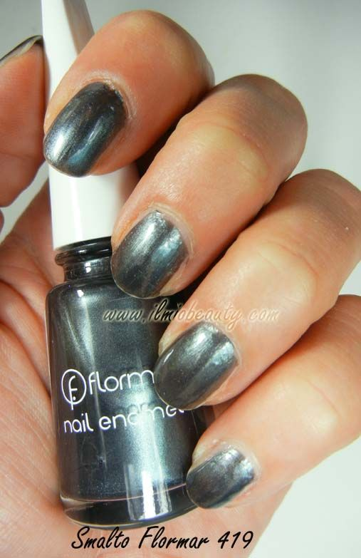 Chanel Black Pearl dupe - flormar nailpolish see more at www.ilmiobeauty.net