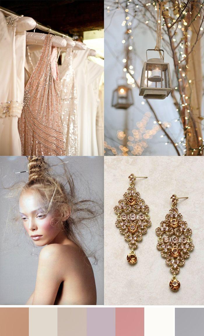 Moodboard | Delicate Glitter #christinagreve