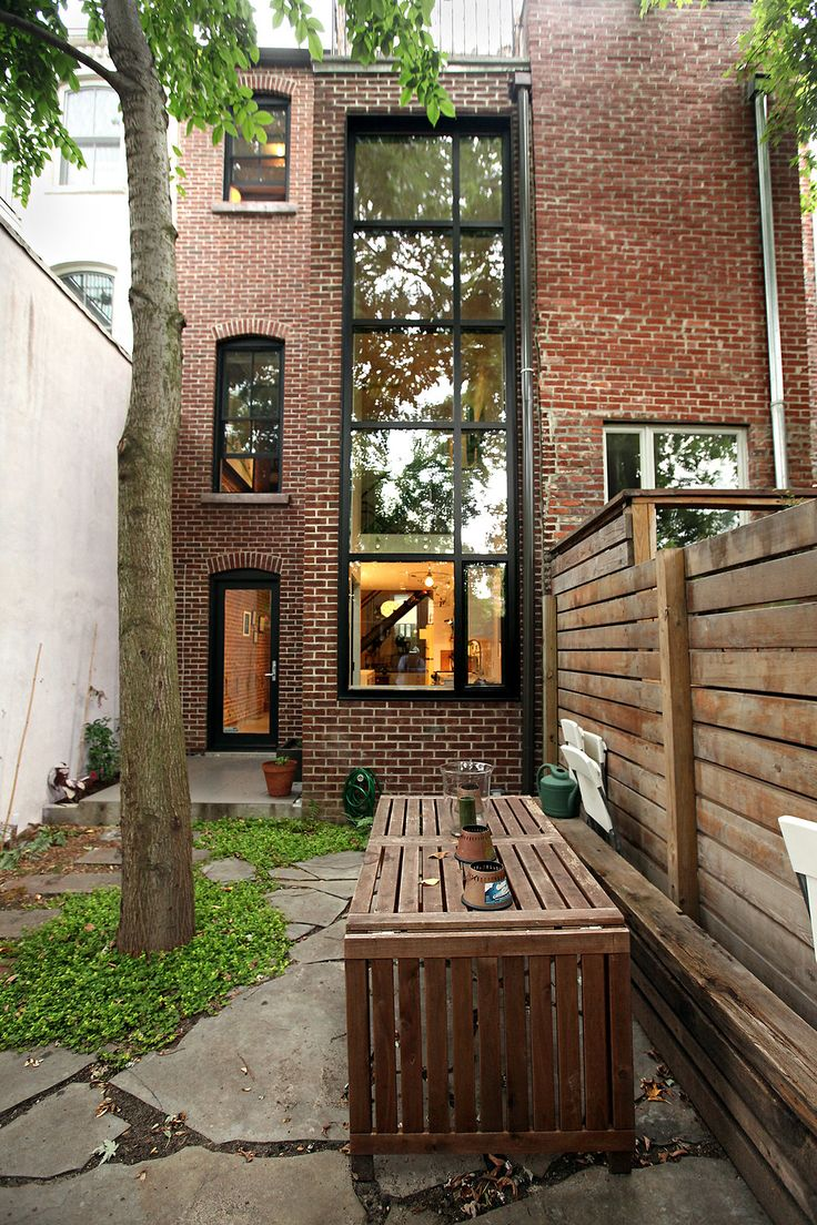 Kinda narrow, but love the window wall  Habitats | Clinton Hill, Brooklyn - Slide Show - NYTimes.com