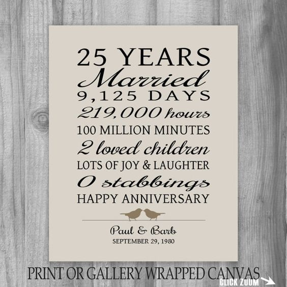 25 Best 25th Wedding Anniversary Quotes On Pinterest