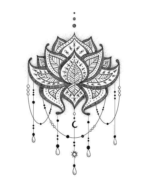 Printable Art, Lotus, Meditation Art, Buddhist, Zen Printable, Spiritual Symbol Art, Art Printable, Digital Download Print