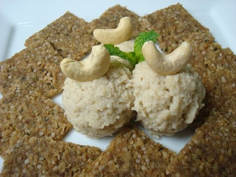 Raw Cashew Nut Hummus and Nut Crackers - Danielle Heard, MS, HHC ...