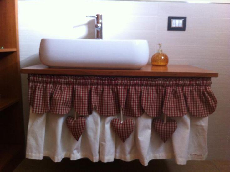 Le 17 migliori immagini su tendine country su pinterest - Tendine per il bagno ...