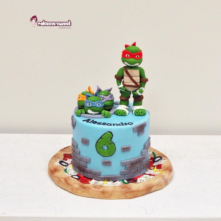 27 best Ninja Turtles Cakes images on Pinterest Ninja ...