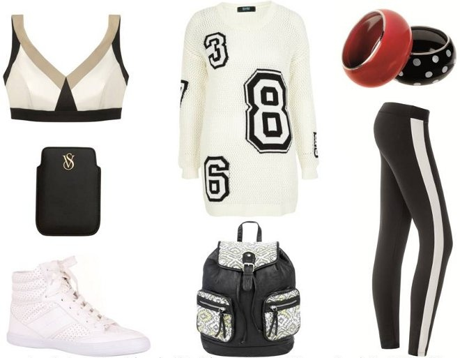 Black sport style