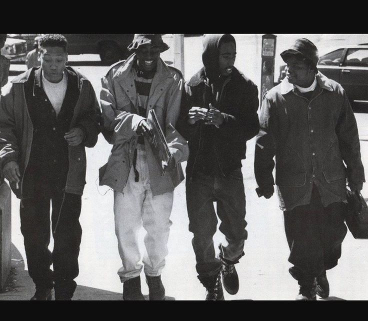 On the set of the movie Juice .