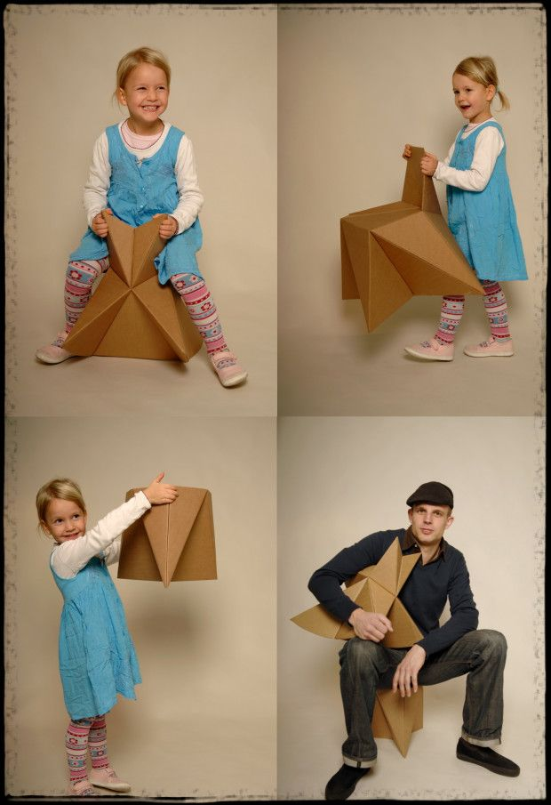 diy cardboard furniture instructions