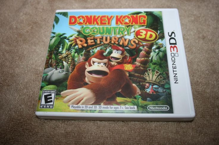 donkey kong country returns 3d 3ds | Details about Donkey Kong Country Returns 3D Nintendo 3DS