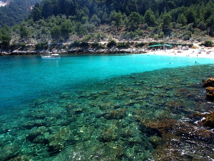Summer is here!  at the island of Thassos, Kavala, Greece