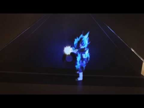ZW Design - Holografia Goku - Dragon Ball Z - YouTube