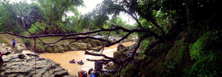 Rafting at Oyo River - Yogyakarta - Indonesia