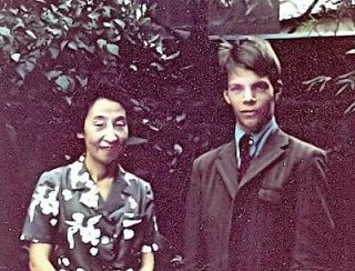TOKUGAWA MOTOKO and Roy Lindquist 1969