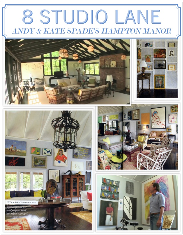 Andy amp kate spade s southhampton home click for details andy spade
