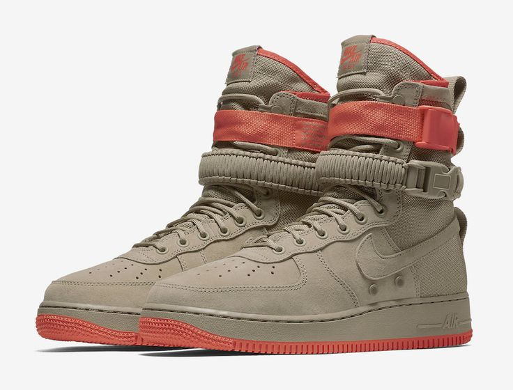 Coming Soon: Nike Special Field Air Force 1 Khaki Rush Coral