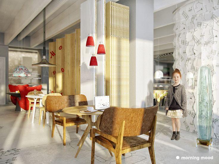 Increíble diseño de restaurantes y bares modernos