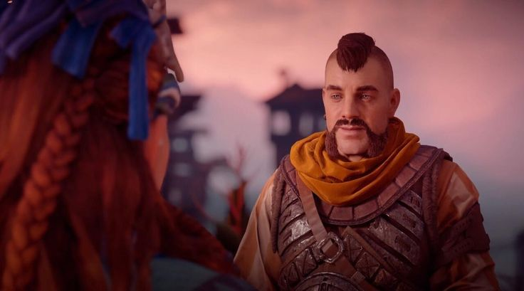 Picked up Horizon for Black Friday - Why is Chuck Liddell in the game?