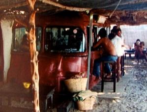 Pirata Bus, Platja Mitjorn, Formentera