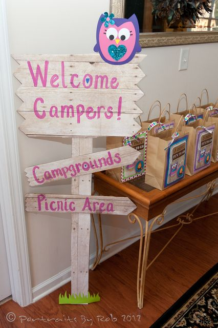 """Photo 22 of 31: Glamping Party / Birthday """"Faith's 8th Birthday""""   Catch My Party"""