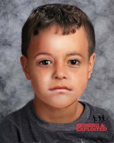 "Missing Boy: Jesus Dominguez --TX-- 03/20/2008; Age at Missing: 1   Sex:  Male  Race:  Hispanic  Hair:  Lt. Brown  Eyes:  Brown  Height:  3'0"" (91 cm)  Weight:  40 lbs (18 kg)  They may be traveling in a green Ford F150 pickup truck with Texas license plates 73ZCM4. Jesus may go by the nickname Jessie.  ANYONE HAVING INFORMATION SHOULD CONTACT  National Center for Missing & Exploited Children  1-800-843-5678 (1-800-THE-LOST)  Waller Police Department (Texas) 1-936-826-8033: Brown Eyes, Hispanic Hair"