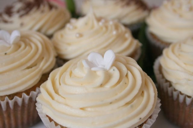 Early Grey Cupcakes - I used this recipe and they were delicious!  Very easy to follow instructions.    I also made the frosting from scratch, but using a cream cheese recipe http://allrecipes.com/recipe/cream-cheese-frosting-ii-2/