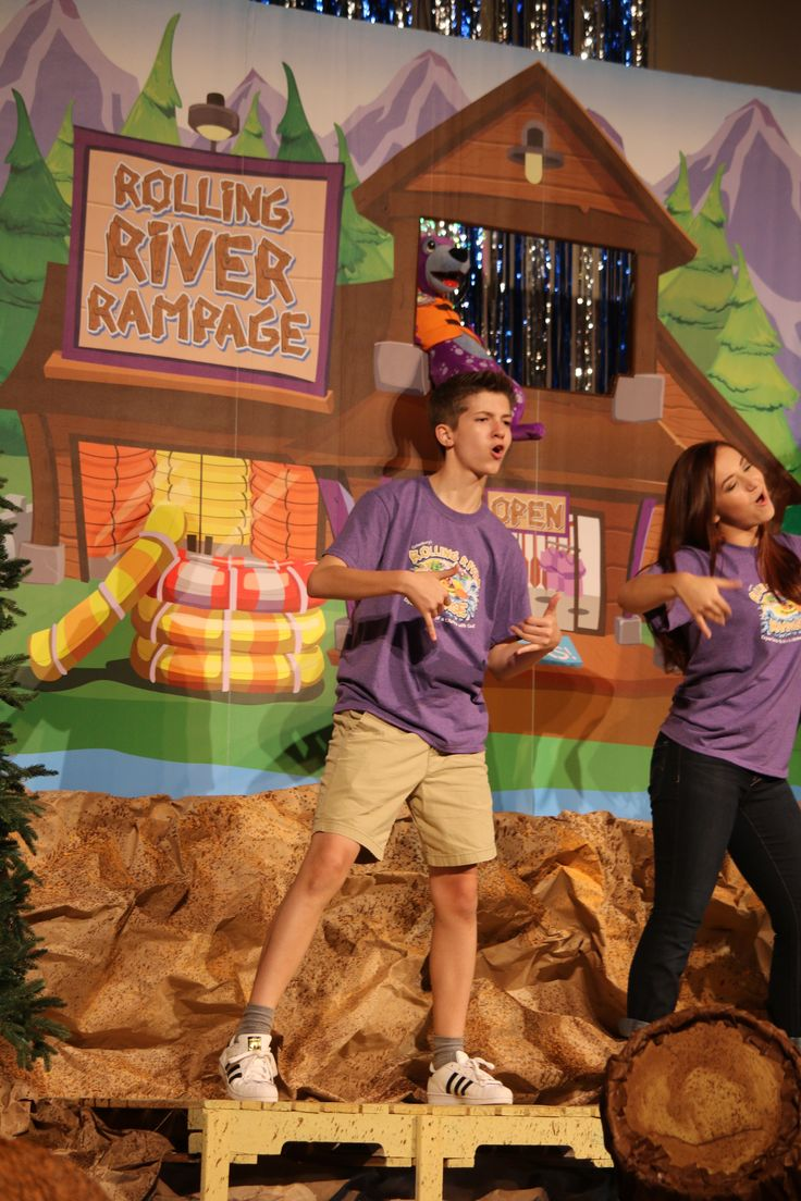 175 Best Vbs 2018 Rolling River Rampage Images On