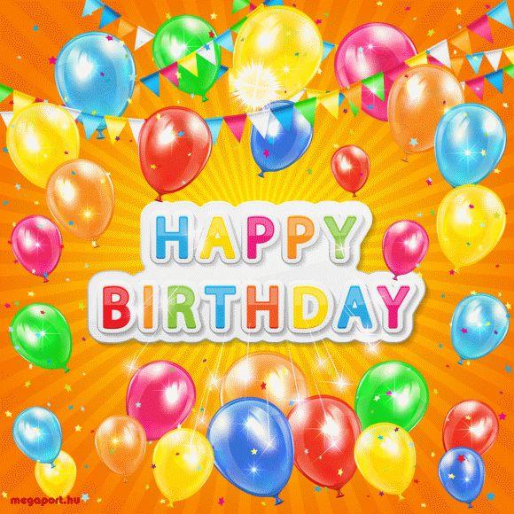 Happy Birthday (animated gif eCard) - Megaport Media