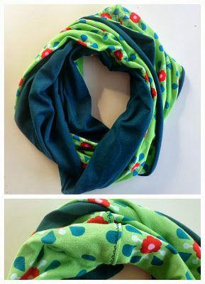 huisje creatief: Cirkelsjaal schattig en lekker warm