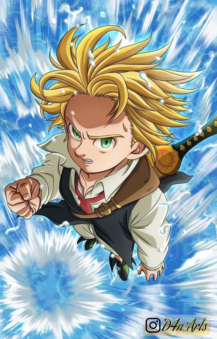 Veja melhores imagens do anime Nanatsu no taizai com seus