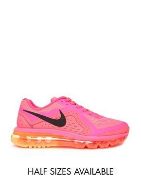 Nike+Pink+Air+Max+2014+Trainers