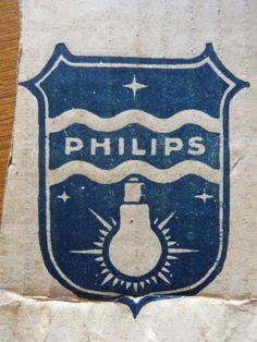 Philips logo lightbulb 1960s - Google Search