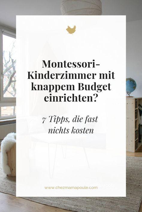 Montessori Kinderzimmer einrichten TROTZ knappem Budget? 7
