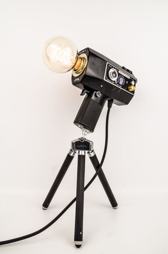 "Camera lamp Super 8 ""Yashica Super 800 electro"""