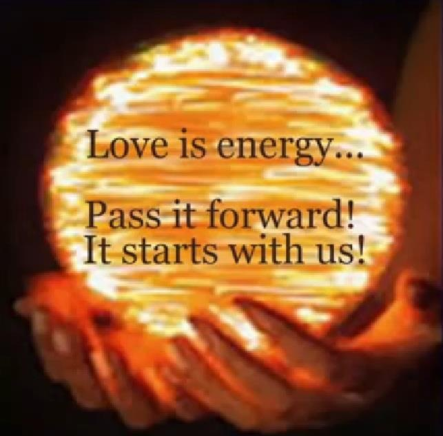 Image result for Love Ray in Light energy