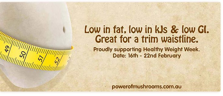 Proudly supporting Healthy Weight Week
