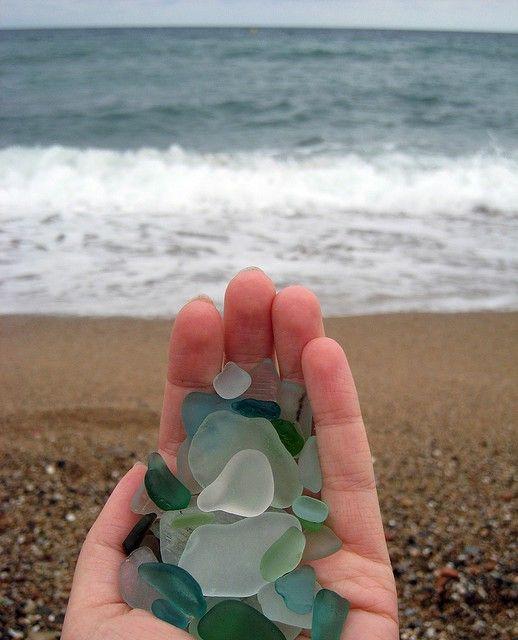love ocean glass~