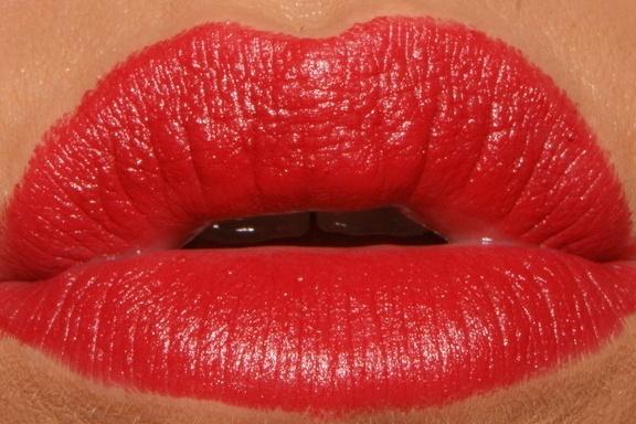 Revlon Really Red. My fave lipstick.