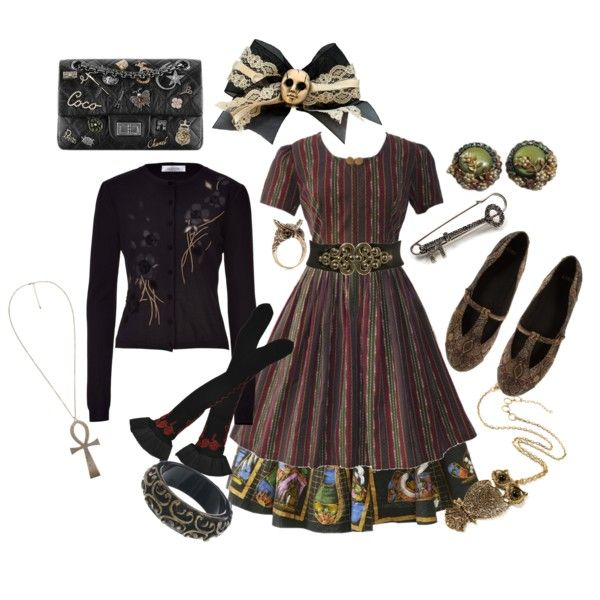 A fashion look from August 2013 by roseunspindle featuring Valentino, Trasparenze, ASOS, Amrita Singh, Accessorize, Nali, Avalaya, Miss Selfridge et Chanel
