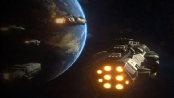 Στόλος UFO  που δεν υπάρχουν! περνά μπροστά από την Σελήνη σε ζωντανή μετάδοση [Βίντεο]