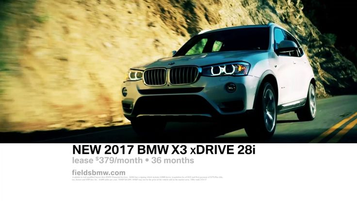 Become a Member of the Fields Family  2017 BMW X3 xDrive28i Lease Offer #FieldsBMW #Orlando #Florida
