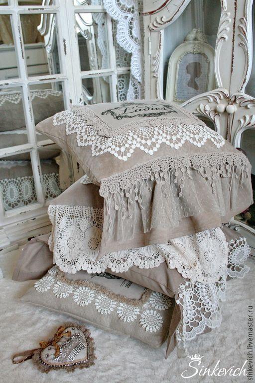 """Подушки """"Любимый Винтаж"""" #handmade #cushions #vintage"""