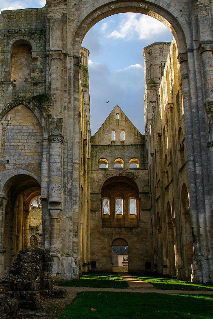 Abbaye de Jumièges, Normandië, Frankrijk