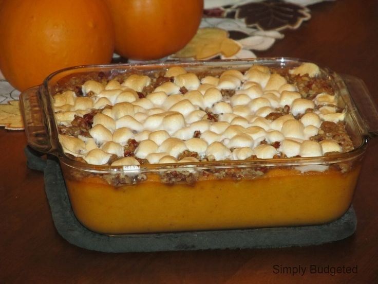 How to make the BEST sweet potato caserole. I know because I've tried it! Pin for Thanksgiving!