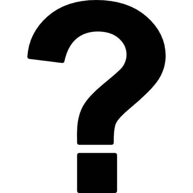 El signo de pregunta Icono Gratis