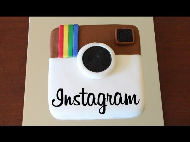 HOW TO MAKE AN INSTAGRAM CAKE!